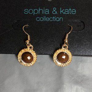 Sophia & Kate Jewelry - Gold Toned Sophia & Kate Necklace & Earrings.NWT!